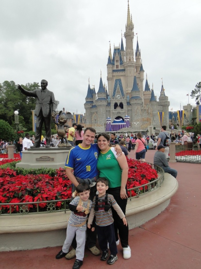 Castelo da Cinderela Magic Kingdom Orlando