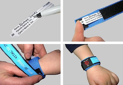 Vital ID Medical ID Wrist Band