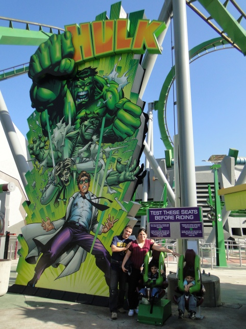 The Incredible Hulk Coaster Island Of Adventure Orlando