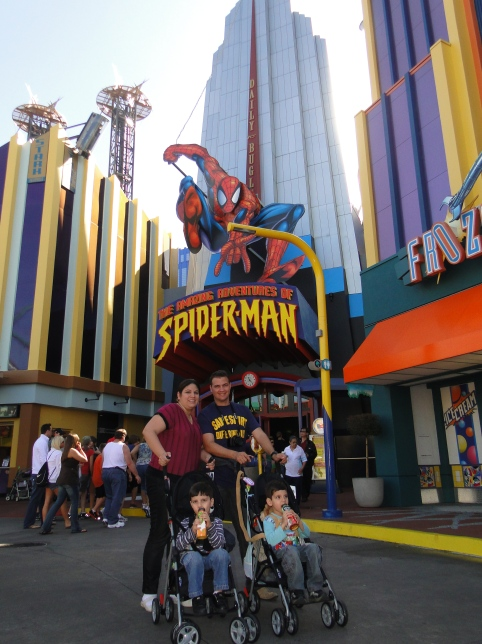 The Amazing Adventures of Spider-Man Island Of Adventure Orlando