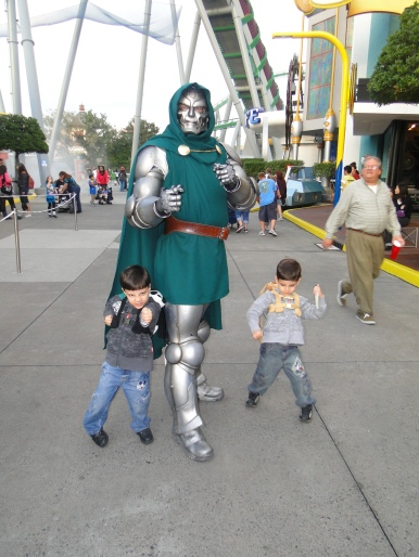 Dr Doom Island of Adventure Orlando