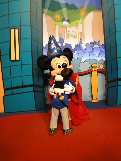 Disney Hollywood Studios Encontro com personagens