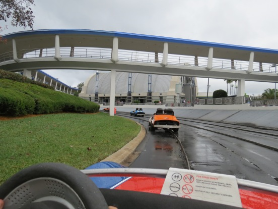 Tomorrowland Indy Speedway Magic Kingdom Orlando