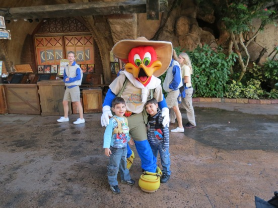 Woody Woodpecker Island Of Adventure Orlando