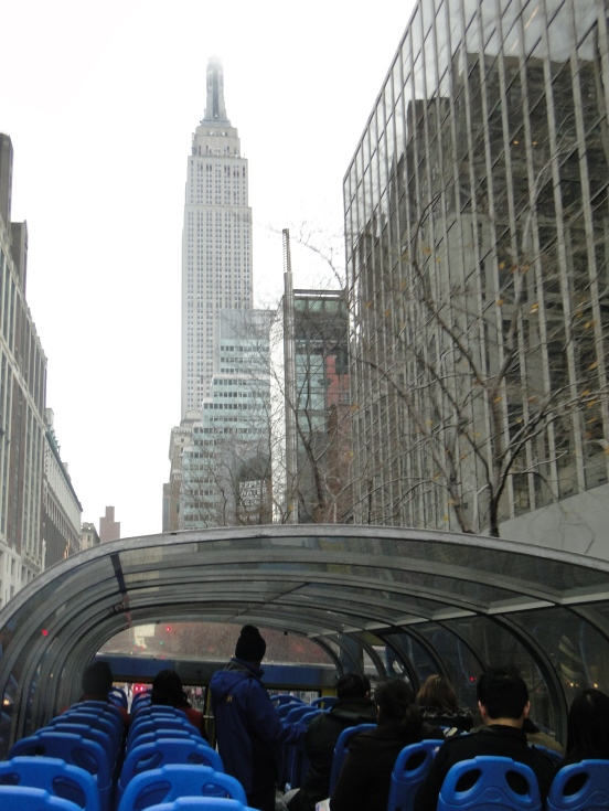 Empire State Building CIty Tour ônbus panorâmico 2 andares por Downtown Manhattan New York