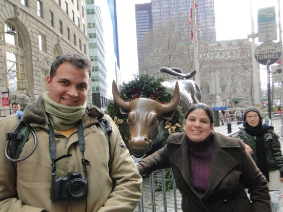 Charging Bull Downtown New York