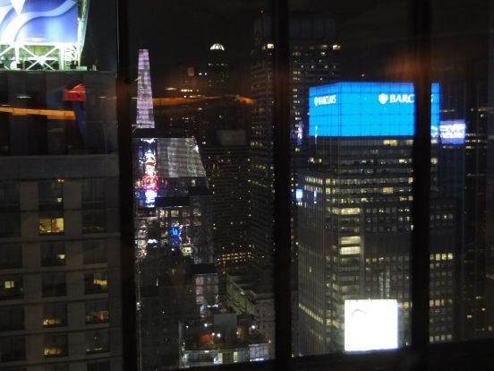 Vista do Thww View restaurant New York