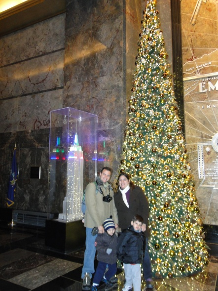 Hall de entrada do Empire State Building New York