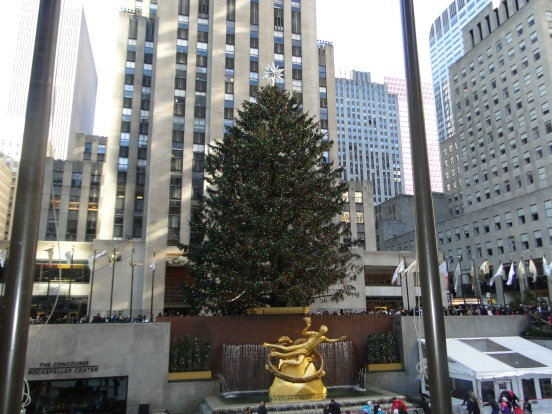 Árvore de Natal Rockefeller Center New York