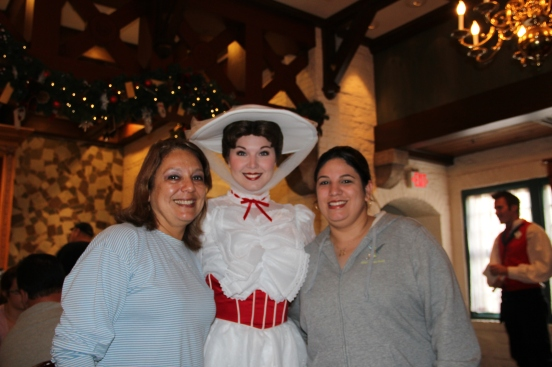 Mary Poppins no Akershus Epcot Orlando