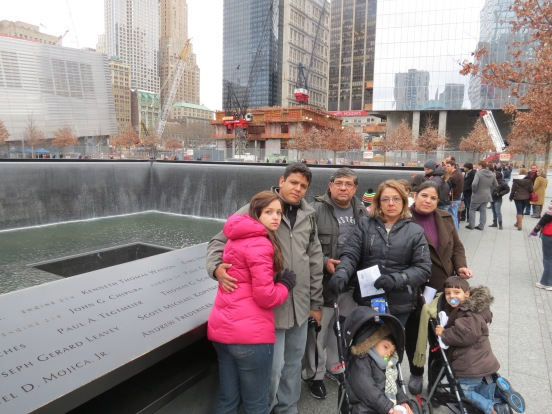 9/11 Memorial Downtown New York