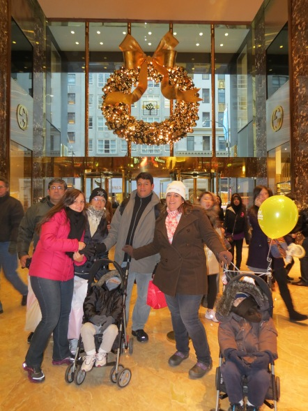Interior da Trump Tower New York