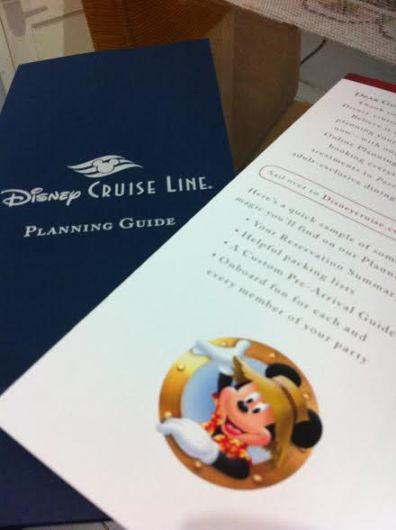Planning Guide Disney Cruise Line