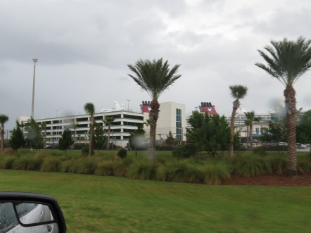 Terminal do Disney Cruise em Port Canaveral Flórida