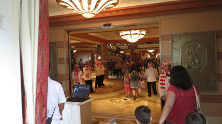 Entrada do Navio Disney Cruise line Port Canaveral