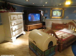 Quarto do Andy no filme Toy Store Disney Dream, Disney Cruise Line