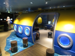Submarino do Nemo Disney Dream, Disney Cruise Line