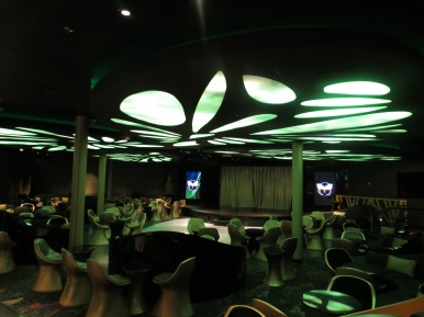 Interior do Evolution Conhecendo o Disney Dream