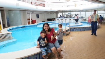 Quiet Pool Disney Dream Disney Cruise Line