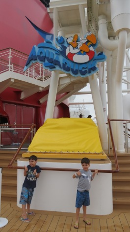 AquaDuck Disney Dream Disney Cruise Line