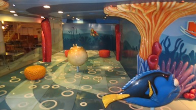 Nemo's Reef Disney Dream Disney Cruise Line