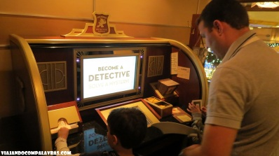 Detective Agency Disney Dream, Disney Cruise Line