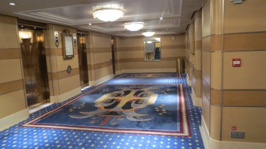 Hall de elevadores Conhecendo o Disney Dream