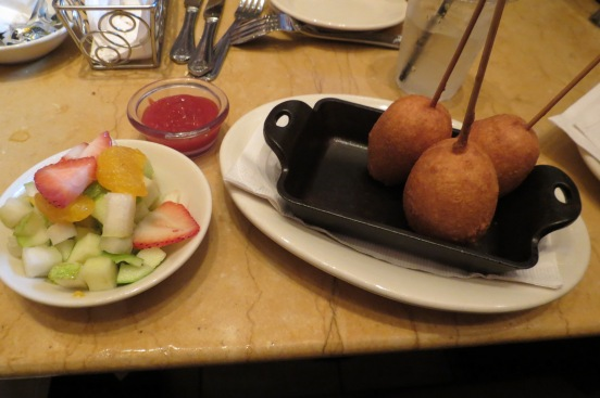 Kid`s Mini Corn Dog The Cheesecake Factory