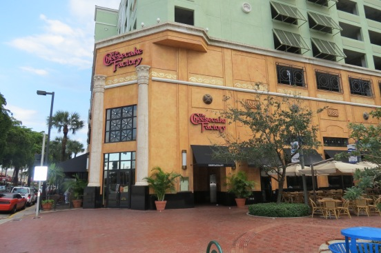 Cheesecake Factory na Las Olas Blvd Fort Lauderdale Flórida
