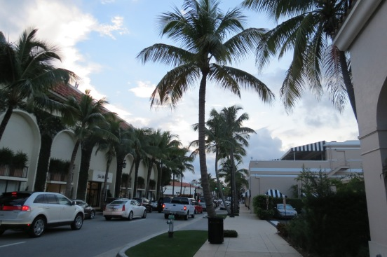 Worth Avenue Palm Beach Flórida