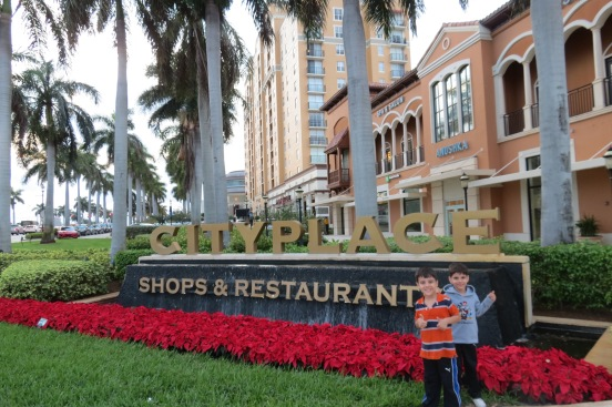 CityPlace em West Palm Beach Flórida