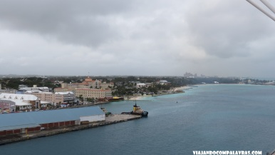 Nassau vista do Disney Dream