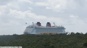 Disney Dream visto da Torre.