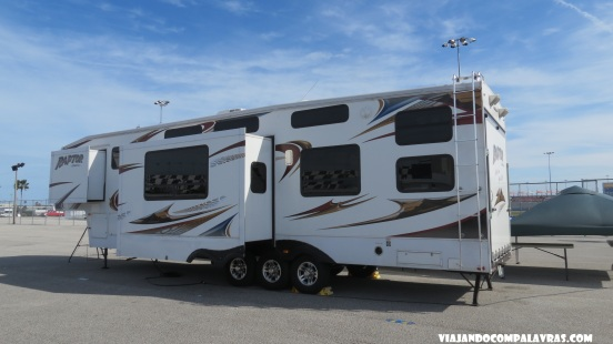 Infield com Motorhome Daytona International Speedway Daytona Beach, Flórida