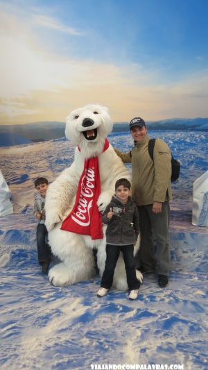 Urso Polar da Coca-cola World of Coca-Cola, Atlanta, Geórgia