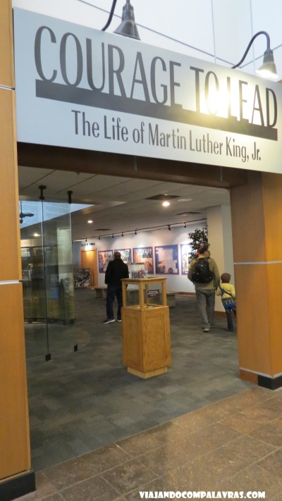 Courage to Lead Martin Luther King Historic Site, Atlanta