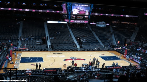 Interior da Phillips Arena, Atlanta