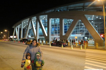 Frente da Phillips Arena, Atlanta