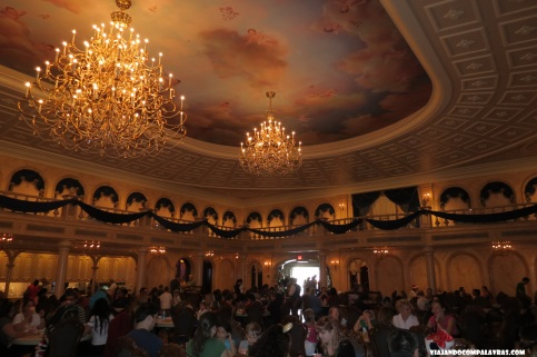 Ballroom, Be Our Guest, Magic Kingdom, Disney, Orlando