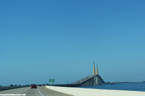 Sunshine Skyway Bridge, St Petersburg, Flórida