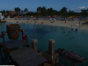 Vista do Pelican Plunge Castaway Cay Disney Dream
