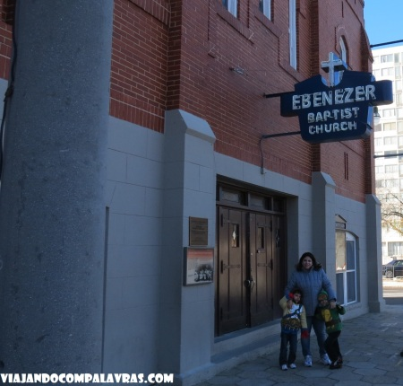 Ebenezer Baptist Church Heritage Sanctuary Martin Luther King Historic Site, Atlanta