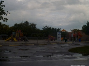 Playground em Higgs Beach Key West, Flórida
