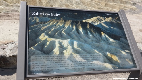 Zabriskie Point Death Valley, Califórnia