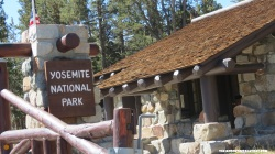 Entrada do Yosemite National Park