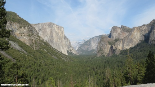 Tunnel View Yosemite, Califórnia