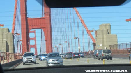San Francisco, atravessando a Golden Gate