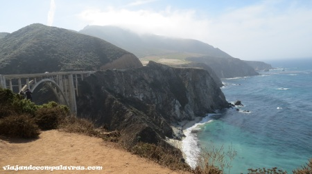 Bixby Creek Bridge, Big Sur, Rota 1, Califórnia