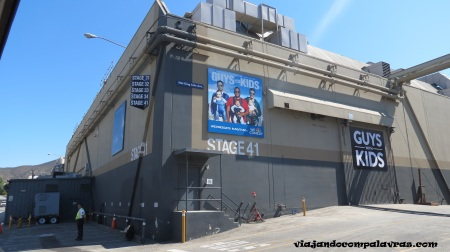 Stages do Studio Tour no Universal Studios Hollywood