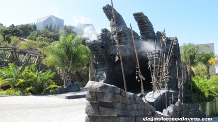 King Kong 360 3D no Studio tour do Universal Studios Hollywood